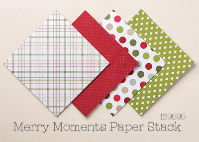 Merry Moments Designer Series Paper Stack #dostamping #stampinup