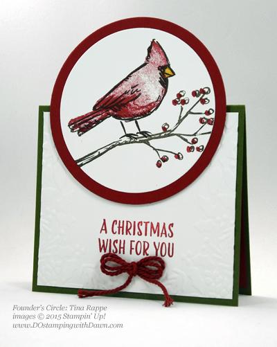 Joyful Season cards shared by Dawn Olchefske #dostamping #stampinup Tina Rappe