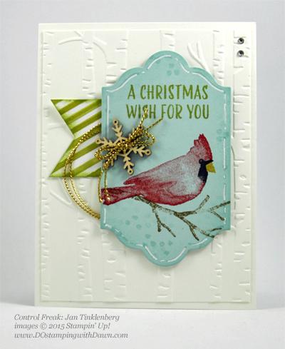Joyful Season cards shared by Dawn Olchefske #dostamping #stampinup Jan Tinklenberg