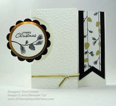 Wonderland swaps from 2015 Holiday Catalog shares by Dawn Olchefske #dostamping #stampinup (Terri Gaines)