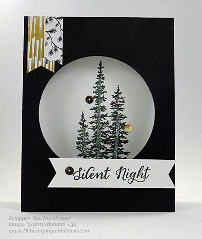 Wonderland swaps from 2015 Holiday Catalog shares by Dawn Olchefske #dostamping #stampinup (Sue Nurnberger)