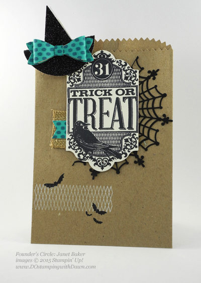 Witches Night swap shared by Dawn Olchefske #dostamping #stampinup (Janet Baker)