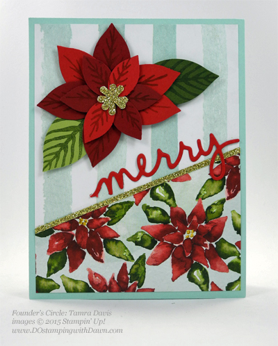 Reason for the Season Bundle swap cards shared by Dawn Olchefske #dostamping #stampinup Tamera Davis