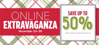 Stampin' Up! Online Extravaganza starts November 23 #dostamping