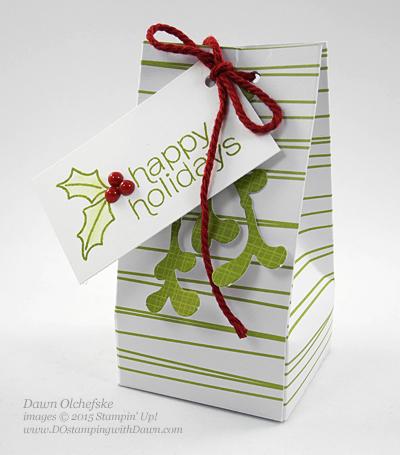 November 2015 Mistletoe & Holly Paper Pumpkin alternate ideas by Dawn Olchefske  #dostamping #stampinup