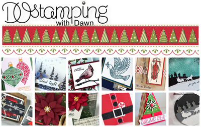 DOstamping 12 Weeks of Christmas by Dawn Olchefske #stampinup