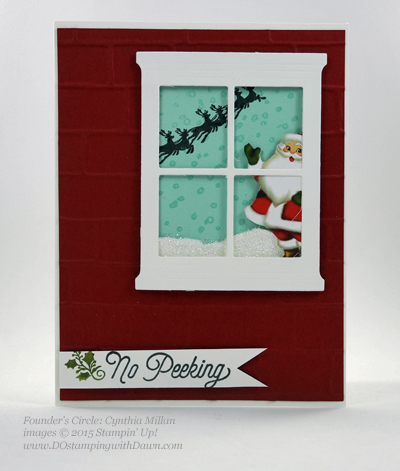 Hearth & Home Thinlits swap card shared by Dawn Olchefske #dostamping #stampinup (Cynthia Millan)