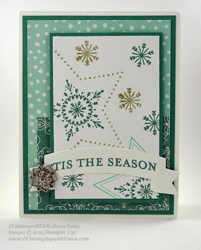 DOstamperSTARS Holiday Cards shared by Dawn Olchefske #dostamping #stampinup (Reisa Pentz)
