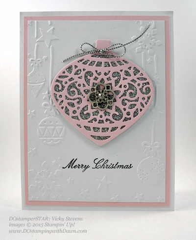 DOstamperSTARS Holiday Cards shared by Dawn Olchefske #dostamping #stampinup (Vicky Stevens)