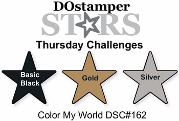 DOstamperSTARS Thursday Color Challenge DSC#162