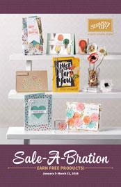 2016 Sale-a-Bration Brochure, Dawn Olchefske #dostamping #stampinup