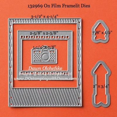 On Film Framelit sizes shared by Dawn Olchefske #dostamping #stampinup