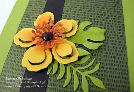 Botanical Builder Framelits card created by Dawn Olchefske for DOstamperSTARS Thursday Challenge DSC#163 #dostamping #stampinup