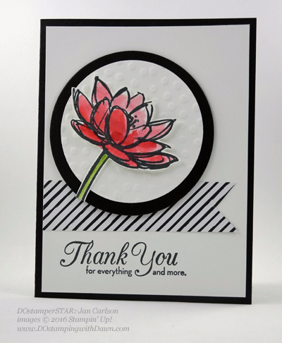 Milwaukee On Stage swap cards shared by Dawn Olchefske #dostamping #stampinup (Jan Carlson)