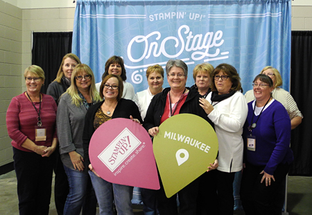 DOstamperSTARS Milwaukee On Stage #dostamping #stampinup