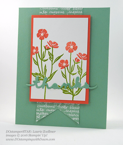 Milwaukee On Stage swap cards shared by Dawn Olchefske #dostamping #stampinup (Laurie Zoellmer)