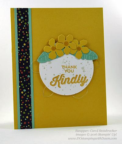 Botanical Gardens Bundle swap cards Shared by Dawn Olchefske #dostamping #stampinup (Carol Steinbrecher)