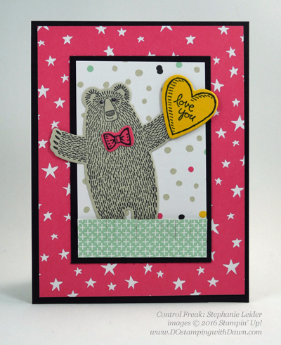 Bear Hugs cards shared by Dawn Olchefske #dostamping #stampinup (Stephanie Leider)