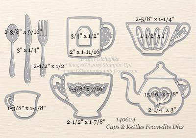 140624 Cups & Kettles-Framelit Dies #dostamping #stampingup