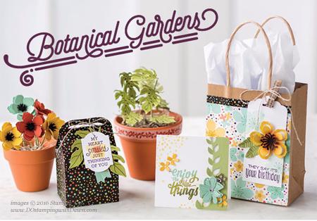 Botanical Gardens Collection shared by Dawn Olchefske #dostamping #stampinup