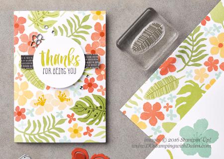 Botanical Gardens cards shared by Dawn Olchefske #dostamping #stampinup
