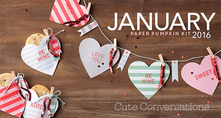 January 2016 Cute Conversations Paper Pumpkin alternate ideas by Dawn Olchefske  #dostamping #stampinup