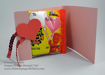 Matchbook Treat Holder January 2016 Cute Conversations Paper Pumpkin alternate ideas by Dawn Olchefske  #dostamping #stampinup