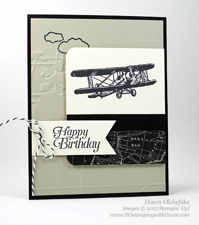 Sky is the Limit Sale-a-Bration card  created by Dawn Olchefske #dostamping #stampinup