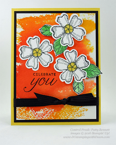 Birthday Blossom & Pansy Punch card swaps shared by Dawn Olchefske #dostamping #stampinup (Patty Bennett)