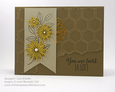 Grateful Bunch Bundle swap cards shared by Dawn Olchefske #dostamping #stampinup (Lisa Schultz)