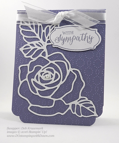 Rose Wonder Bundle card swap shared by Dawn Olchefske #dostamping #stampinup (Deb Krusemark)