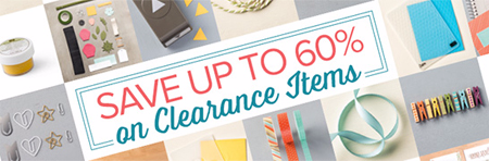 60% off Clearance Rack items updated 4/2016 #dostamping #stampinup