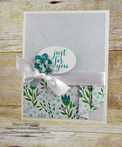 Mini Drapery Fold Pocketful of Cheer March 2016 Paper Pumpkin kit alternate ideas shared by Dawn Olchefske #dostamping #stampinup