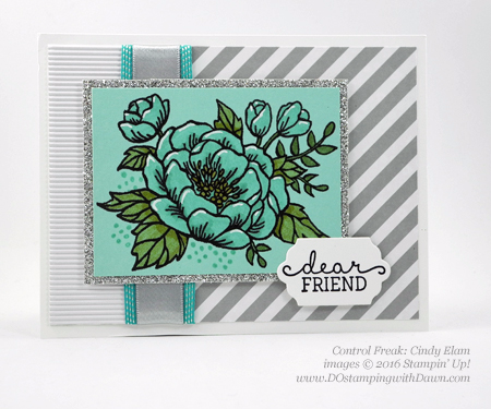Birthday Blooms swap cards shared by Dawn Olchefske #dostamping #stampinup (Cindy Elam)