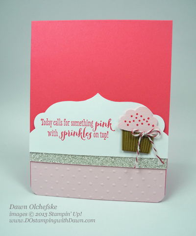 Cupcake Builder Card created by Dawn Olchefske #dostamping #stampinup
