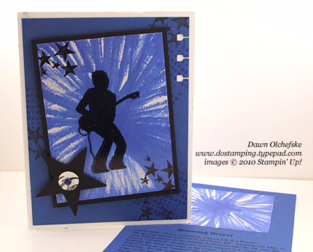 Bouncing Brayer Technique video by Dawn Olchefske #dostamping #stampinup