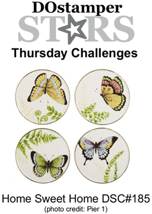 DOstamperSTARS Thursday Challenge #185-Home Sweet Home