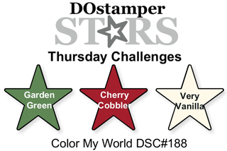 DOstamperSTARS Thursday Challenge #188-Color My World