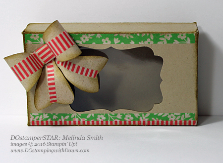 DOstamperSTAR Melinda Smith Affectionately Yours Window Box shared by Dawn Olchefske #dostamping #stampinup