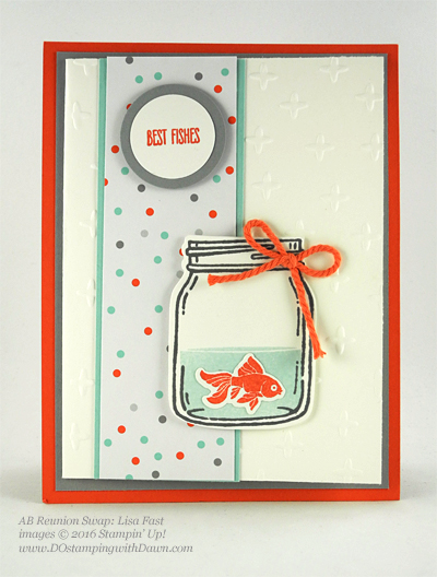 Jar of Love Bundle swap cards shared by Dawn Olchefske #dostamping #stampinup (Lisa Fast)
