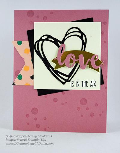 Sunshine Wishes Bundle swap cards shared by Dawn Olchefske #dostamping #stampinup (Sandy McManus)