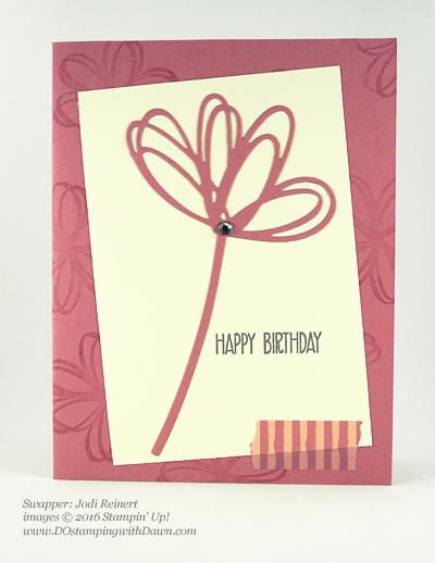 Sunshine Wishes Bundle swap cards shared by Dawn Olchefske #dostamping #stampinup (Jodi Reinert)