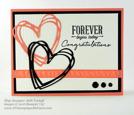 Sunshine Wishes Bundle swap cards shared by Dawn Olchefske #dostamping #stampinup (Beth Tetzlaff)