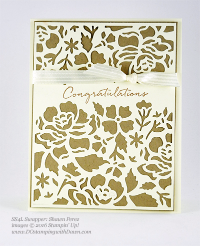 Floral Phrases Bundle swap cards shared by Dawn Olchefske #dostamping #stampinup (Shawn Perez)