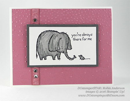 Love You Lots swap card shared by Dawn Olchefske #dostamping #stampinup (Robin Anderson)
