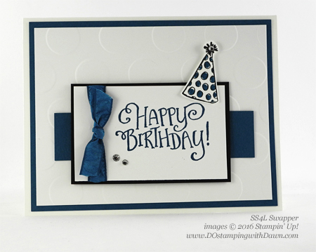 Better Together swap card shared by Dawn Olchefske #dostamping #stampinup (SS4L)