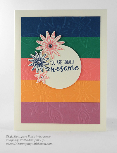 Grateful Bunch swap card shared by Dawn Olchefske #dostamping #stampinup (Patsy Waggoner)