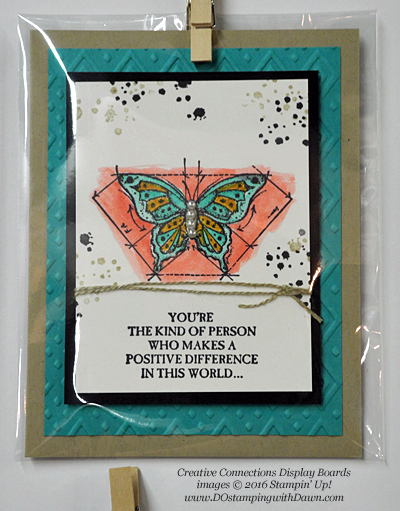 In This World Creative Connections display cards shared by Dawn Olchefske #dostamping #stampinup