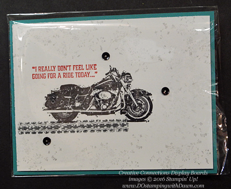 One Wild Ride Creative Connections display cards shared by Dawn Olchefske #dostamping #stampinup