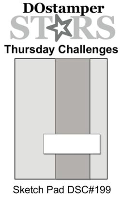DOstamperSTARS Thursday Challenge #199-Sketch Pad